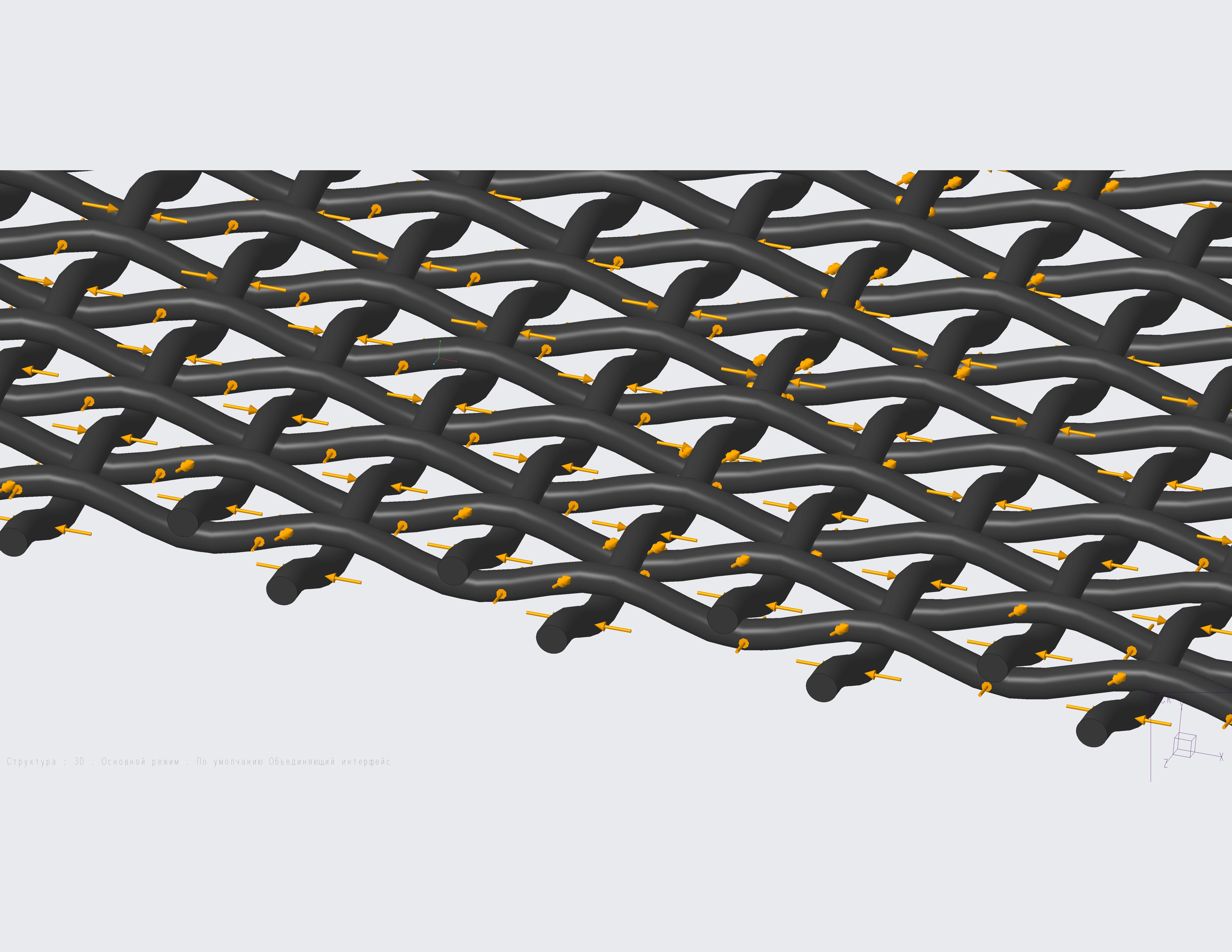 Тканая сетка